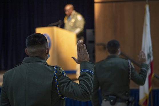 CHP new officers