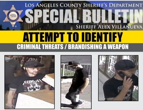 criminal threats suspect
