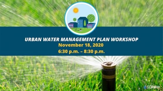 Urban Water Management Plan Workshop