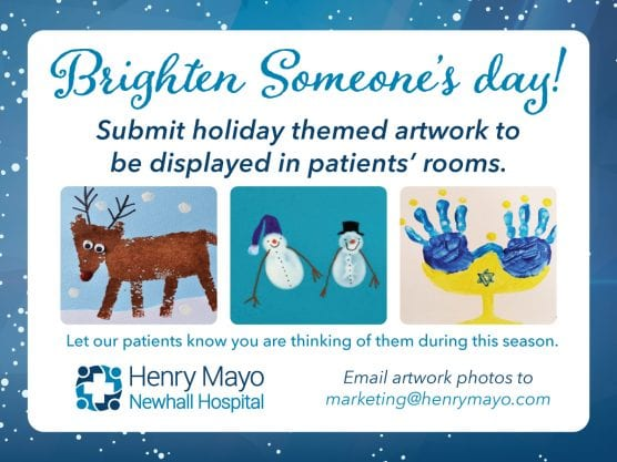 henry mayo holiday greetings for patients