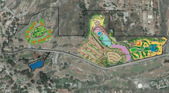 Proposed Site Plan Sand Canyon Resort