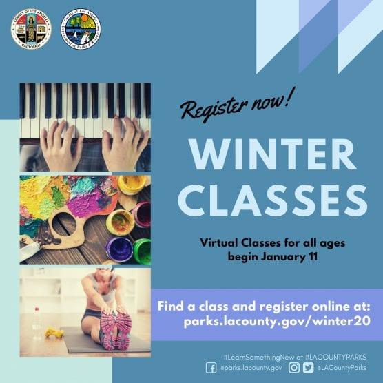 L.A. County Virtual Winter Classes