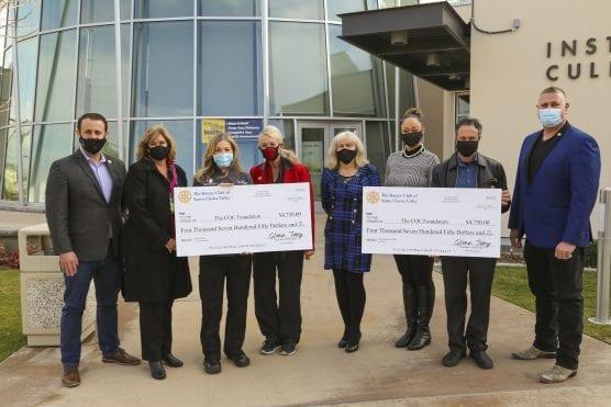 rotary club donates to COC