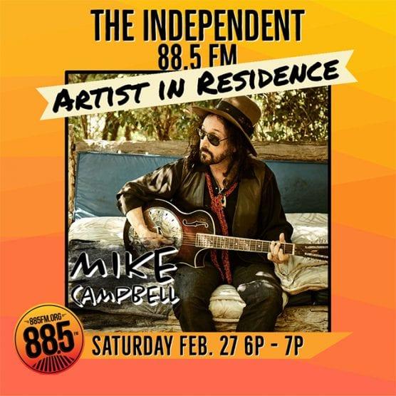 """""""88.5 FM's Artist in Residence"""""""