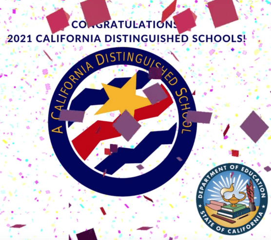2021 California Distinguished Schools