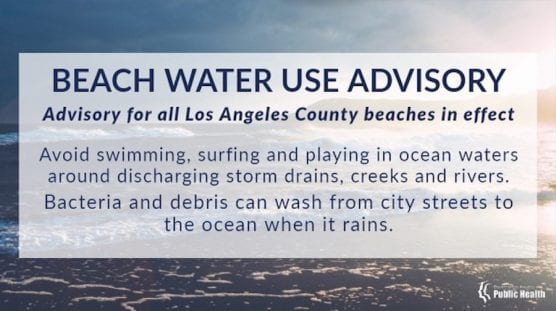 Beach Water Use Advisory