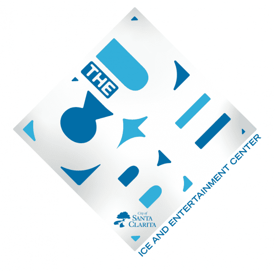 the cube logo for santa clarita's new ice rink
