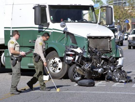 Moto Deputy Crash