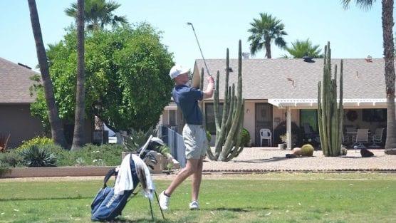 Mustangs Golf Jack Dudeck