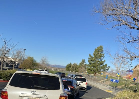 School Pickup Line