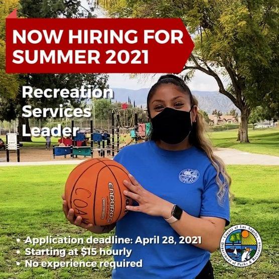 Recreation Service Leaders