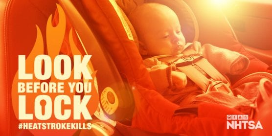 May 1 is National Heatstroke Prevention Day, So 'Look Before You Lock'
