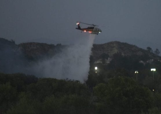 LACoFD Helicopter Drop
