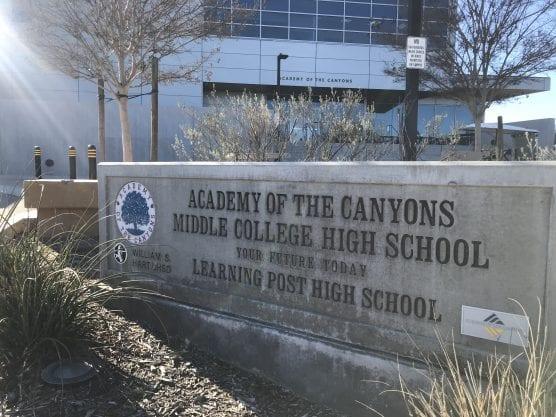 academy of the canyons