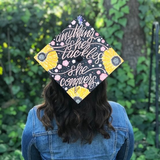 graduation cap photo exhibition