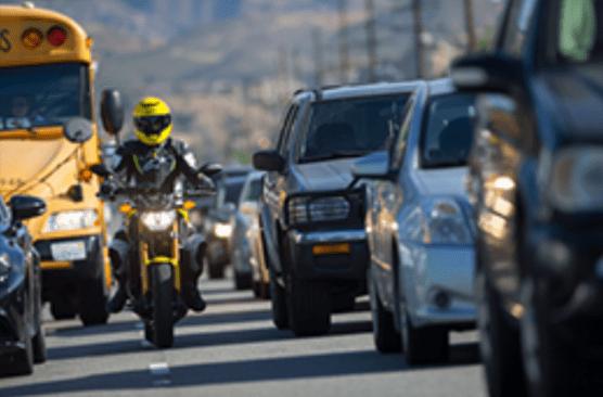 lane splitting chp emphasizes safe riding, driving