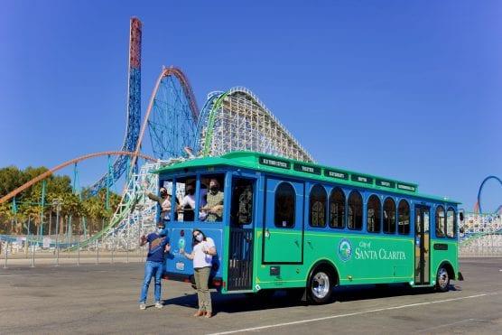summer trolley returns to scv