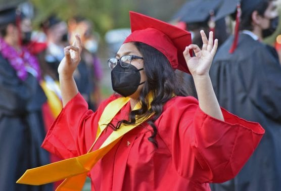 2021 graduating senior Nadia Diaz