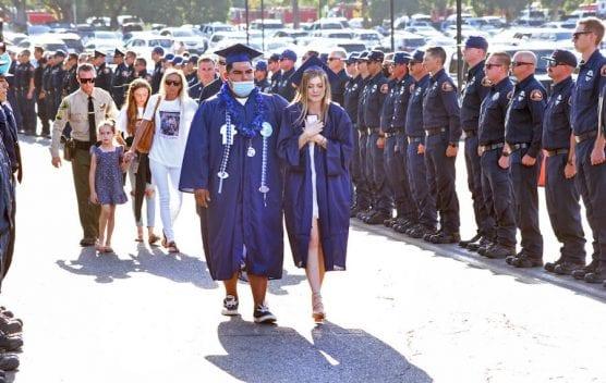 Tony Carlon's Daughter Graduating