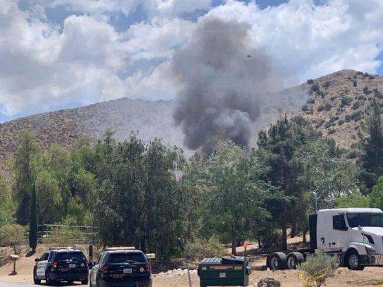 Agua Dulce Fire Shooting