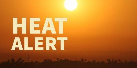 high heat alert issued
