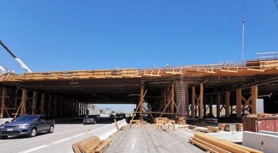 Burbank Bridge Construction Project
