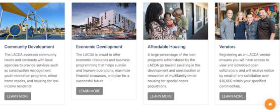 LACDA New Website